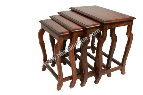 Wooden Set Of Four Table