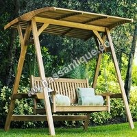 Wooden Outdoor Swing