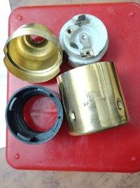 Brass Edison Screen Type Bulb/ Lamp Holder