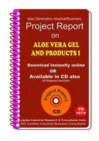 Aloe Vera Gel and Products II manufacturing eBook
