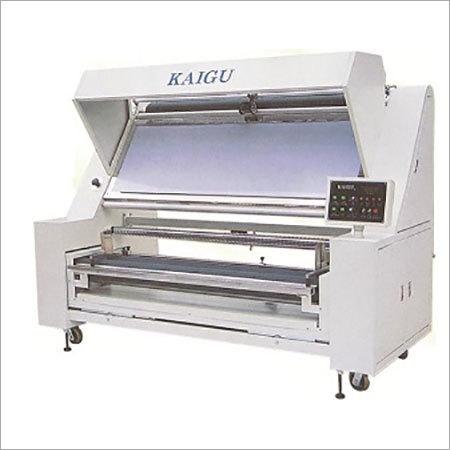 Automatic Edge Aligning and Checking Machine (Fabric Inspection Machine Kaigu)