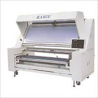 Automatic Edge Aligning and Checking Machine (Fabric Inspection Machine Kaigu)