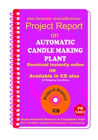 Automatic Candle making Plant manufacturing eBooK