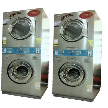 Fully Automatic Double Decker Washer-Extractor and Dryer