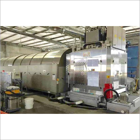 Fully Automatic Tunnel Type Washing Machines for Turn Key Projects