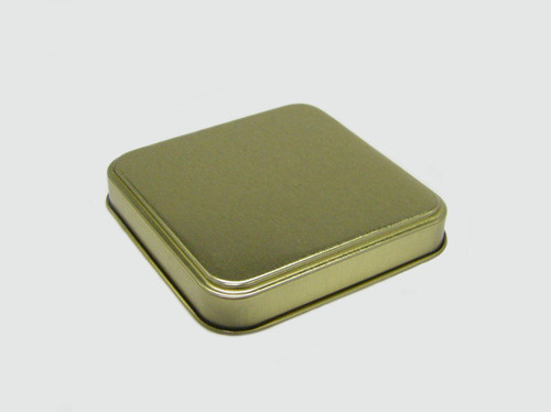 Square Tin Cover