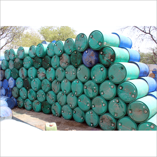 Old Plastic Barrels