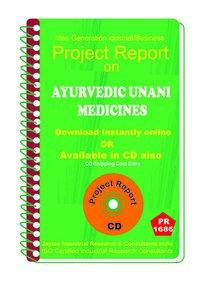 Ayurvedic Unani Medicines Part B manufacturing eBooK