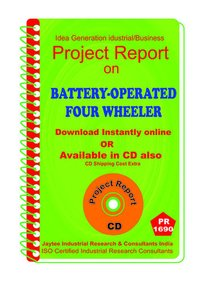 Battery Operated Four Wheeler manufacturing eBooK