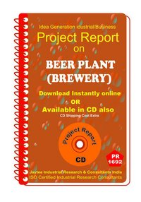 Beer Plant (Brewery) manufacturing Project Report eBooK