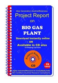Bio Gas Plant establishment Project Report eBooK