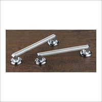Steel Double Door Modern Handle