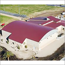 Curved Roof Cladding and Sky Light Frp
