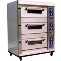 3 Deck Gas Baking Oven