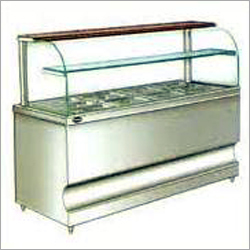 Display Cold Bain Marie