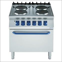 Electric Four Burner Range