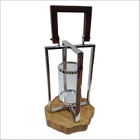 Stainless Steel Candle Lantern