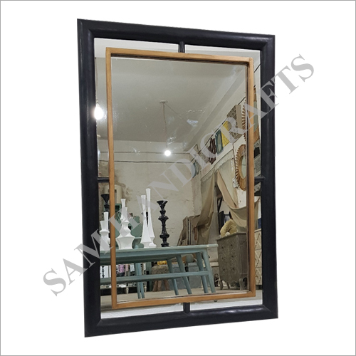 Wood Frame Wall Mirror