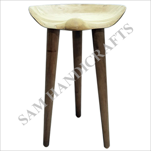 Casual Wood Stool