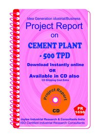 Cement Plant -500 TPD establishment Project Report eBooK