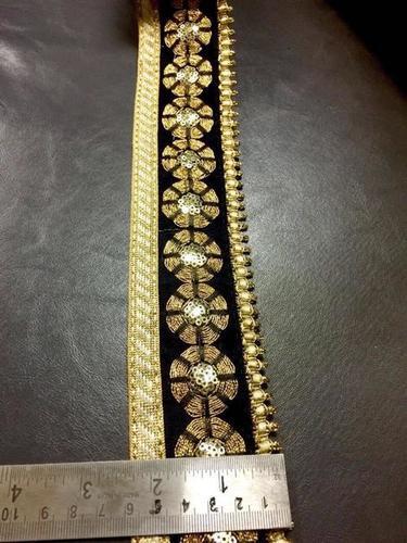 Black 3 MM Maharani Lace
