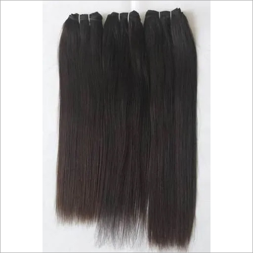 Double Drawn Straight Human Hair