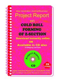 Cold Roll Forming of Z -Section Project Report eBooK