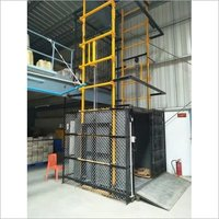 Hydraulic Goods Lift Double Mast