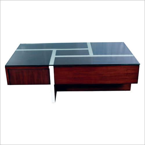 High Glass Center Table