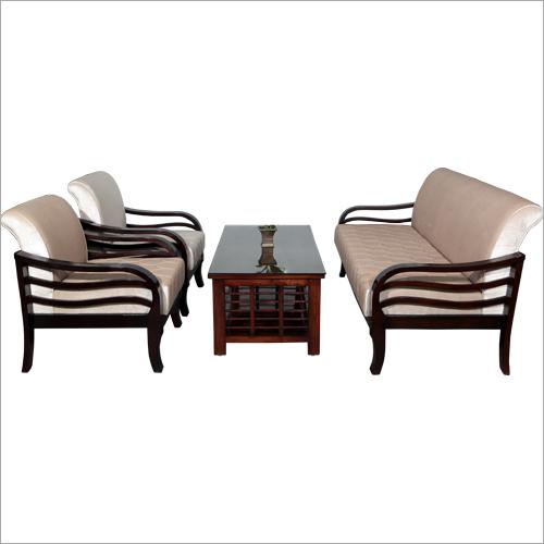 Classy Wooden Sofa Set