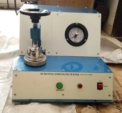Bursting Strength Tester ( Analog Single Gauge)