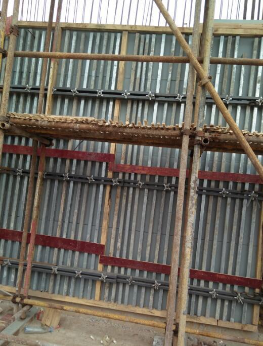 PE PP Hollow Construction Formwork Machine