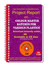 Colour Master Batches for Various Plastics manufacturing eBooK