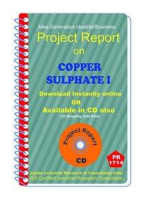 Copper Sulphate I manufacturing Project Report eBooK