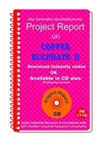 Copper Sulphate II manufacturing Project Report eBooK