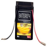 12V 2.5AH Gold AGM Bike Battery