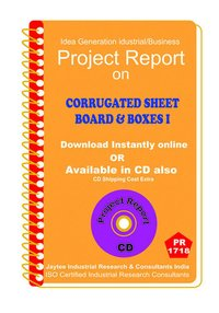 Corrugated Sheet board and Boxes manufacturing eBooK