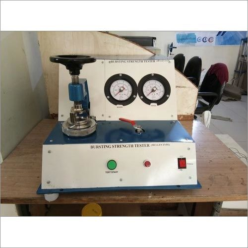 Bursting Strength Tester (Double Gauge Analog Type)