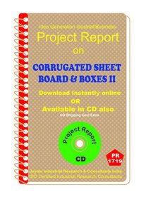 Corrugated Sheet board and Boxes II manufacturing eBooK