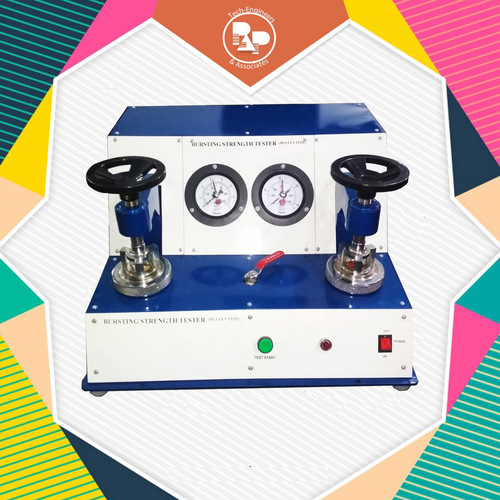 Bursting Strength Tester (Double Head Analog Model)
