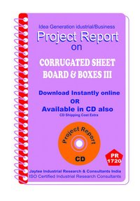 Corrugated Sheet board and Boxes III manufacturing eBooK