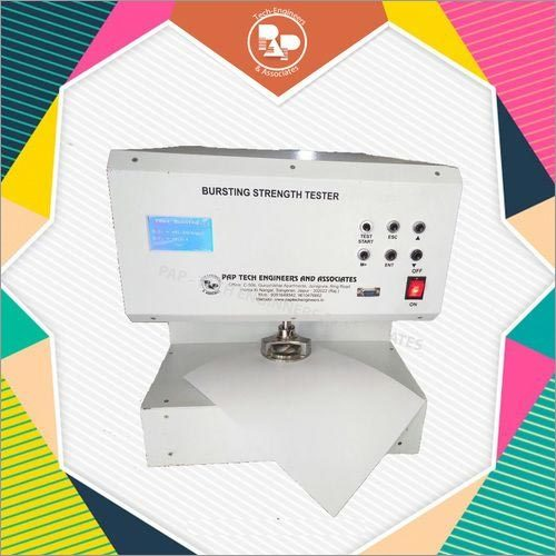 Digital Fully Automatic Bursting Strength Tester