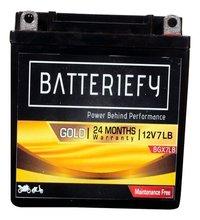 12v 7ah Gold Agm Bike Battery