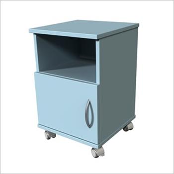Hospital Bed Side Cabinet