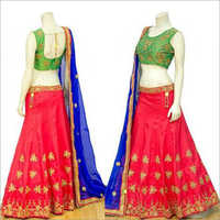 Bridal Lehenga Prestal Red