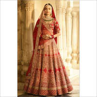 Bridal Lehenga Red Set 3