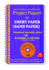 Emergy Paper (sand Paper) manufacturing Project Report eBooK