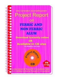 Ferric and Non Ferric Alum manufacturing Project Report eBooK