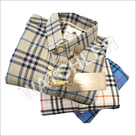 Cotton Burrebery Checks Shirt
