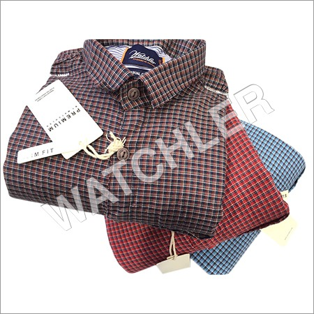 Mens Checks Shirt